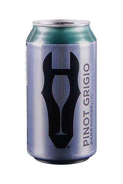 Dark Horse Pinot Grigio Cans