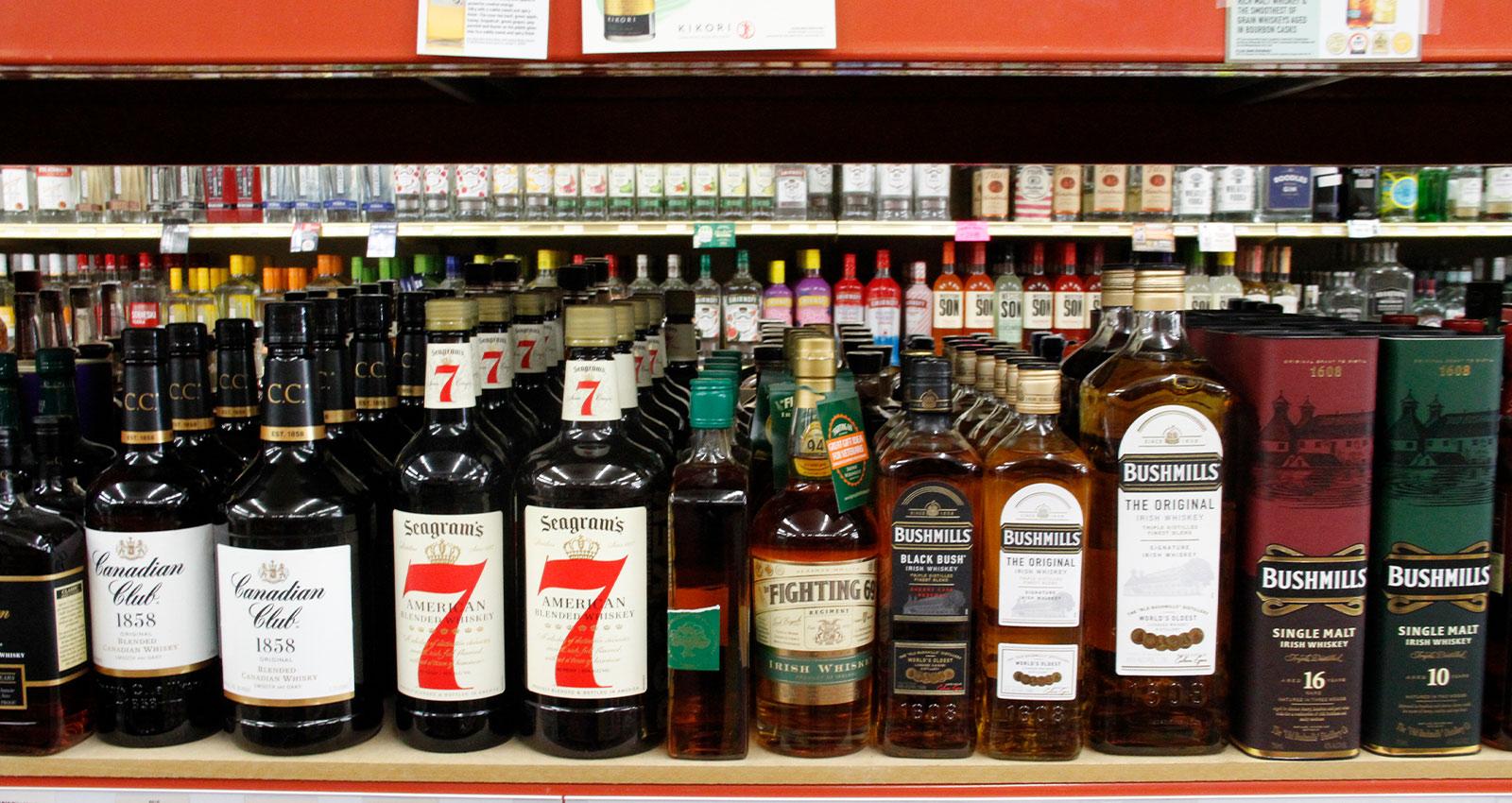 Bourbon Aisle Selection