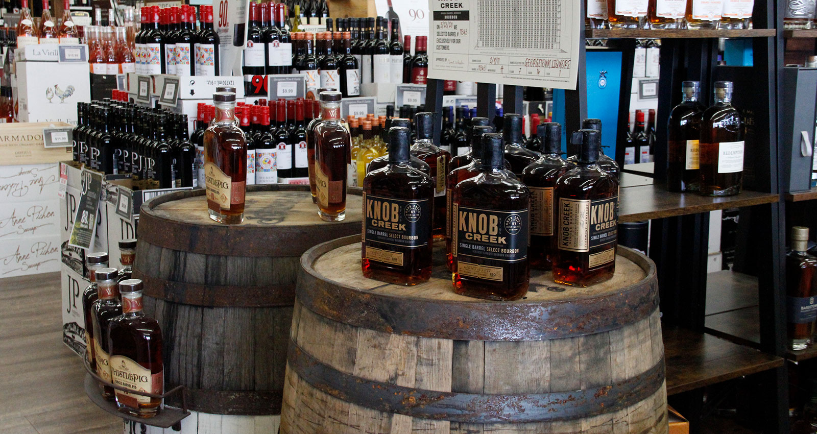 Single Barrel Whiskey